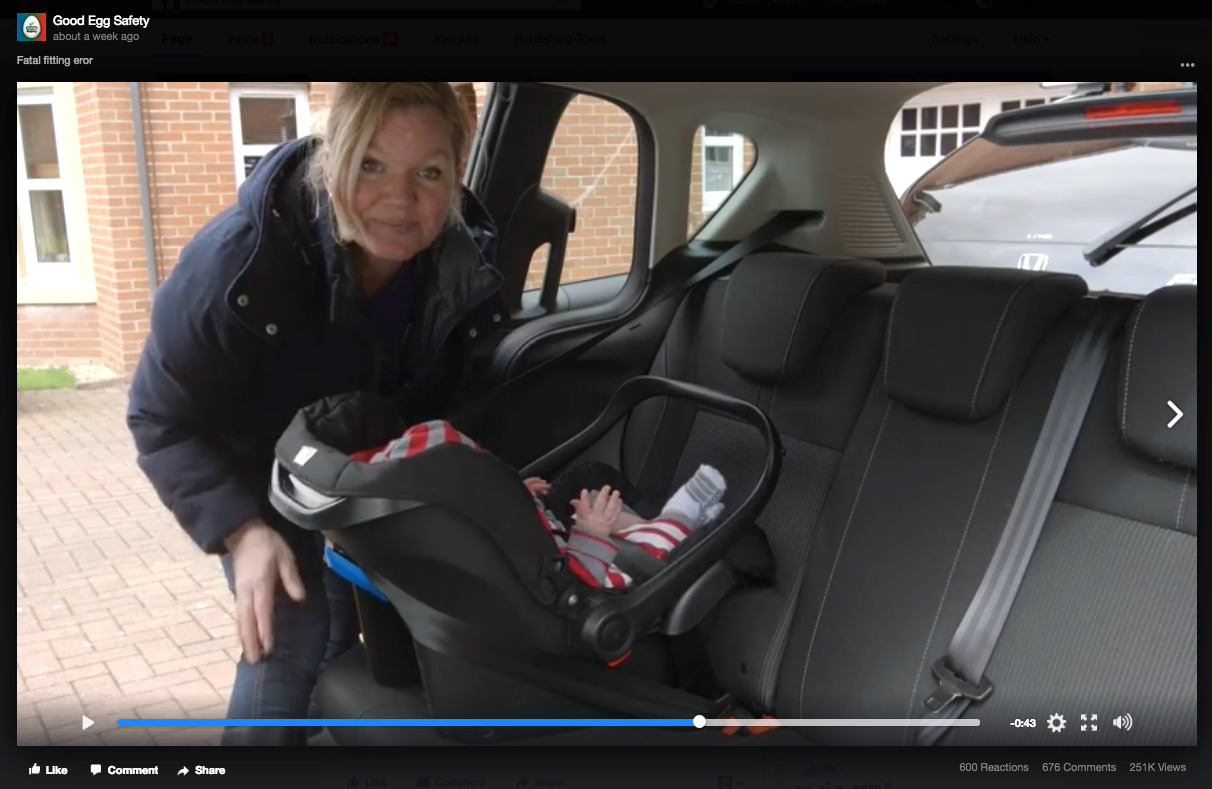 Road Safety Scotland launches major new campaign in response to potentially fatal child seat fitting errors