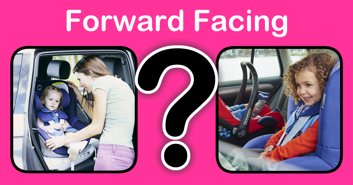 When should I turn my baby forward facing?
