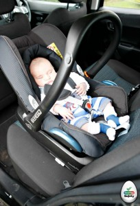 What is a car seat newborn insert?