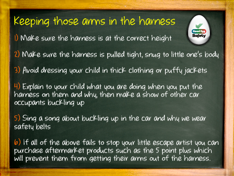Child Car Seat Safety Tip 2