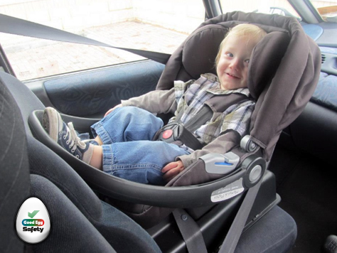 When should I turn my baby forward facing? - Good Egg Car Safety