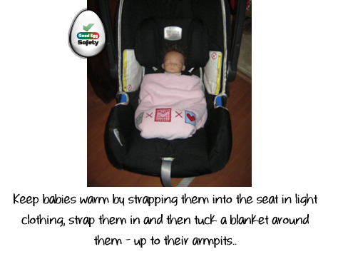 Child Car Seat Safety Tip 5c