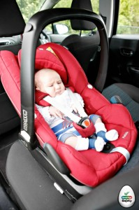 What is a car seat newborn insert? - Good Egg Car Safety