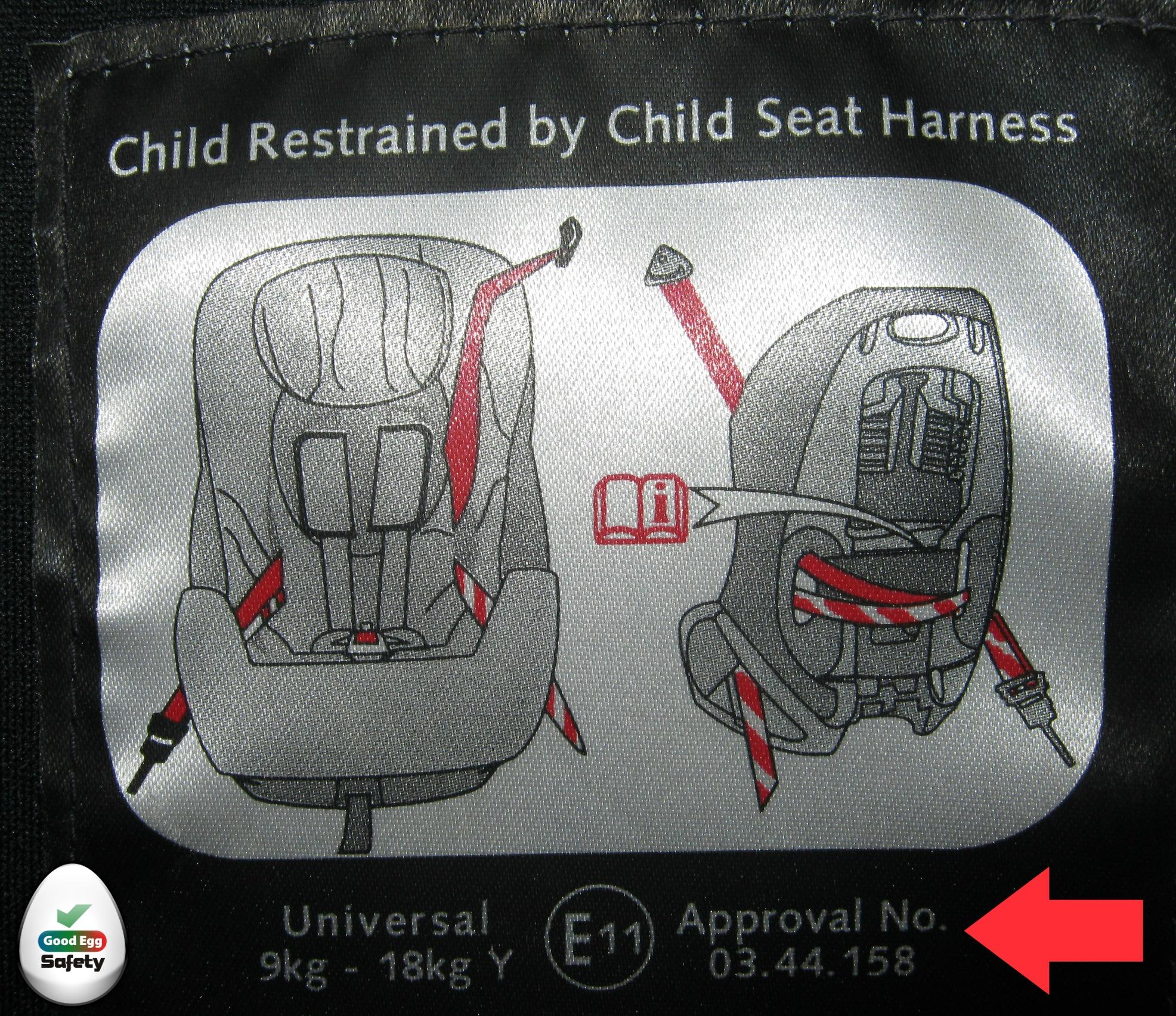 Reusing Child Car Seats