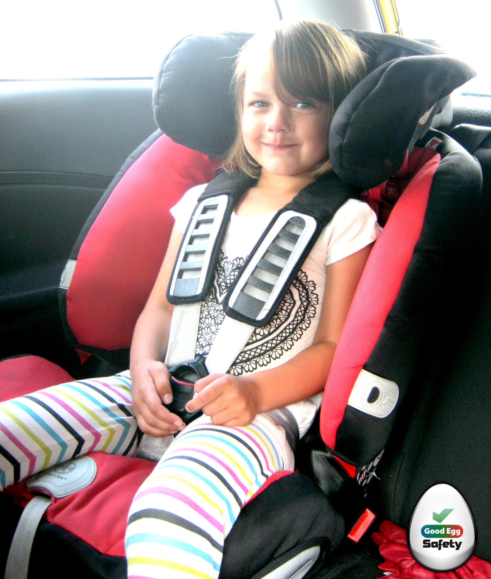 The child car seat harness - Updated - Good Egg Car Safety