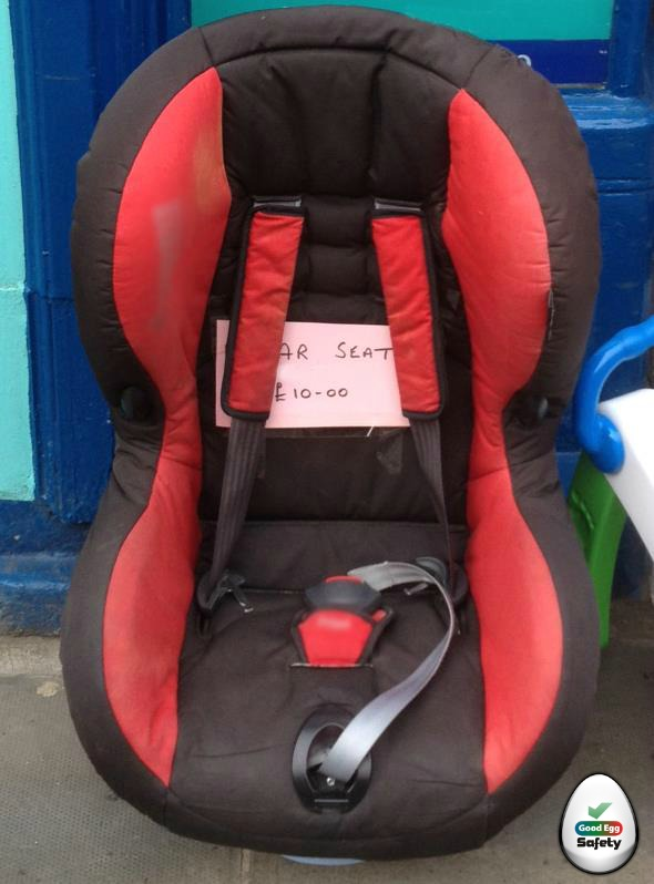 Second hand child seats - the dangers...