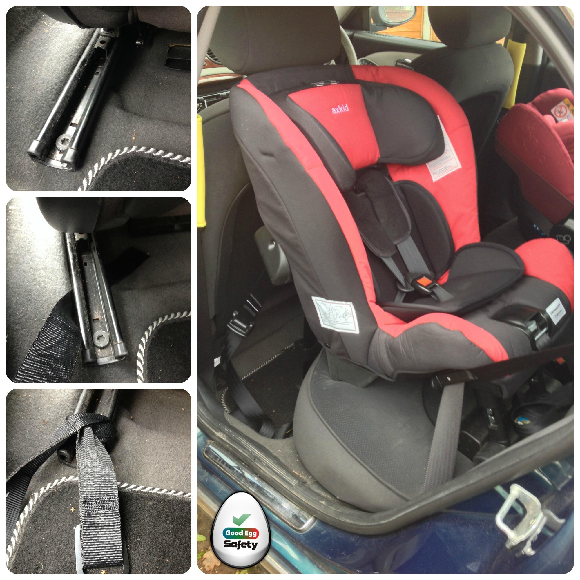 Dangerous Nania Car Seat
